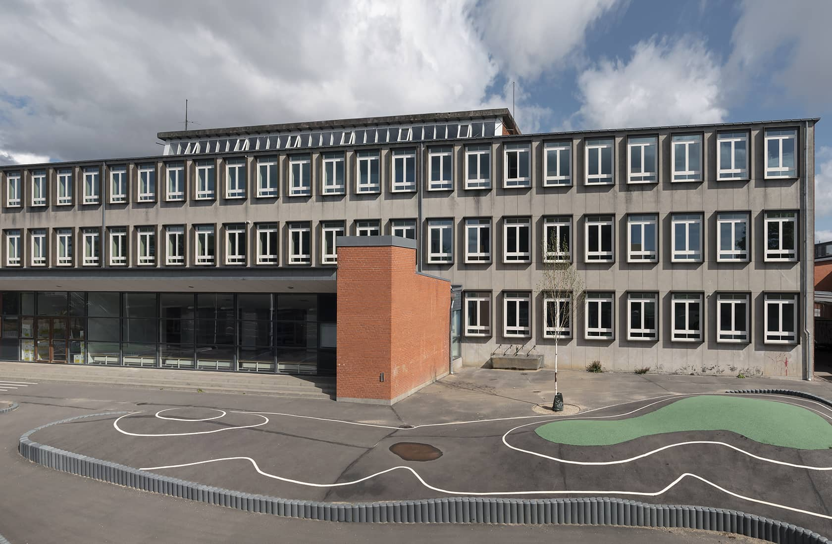 Kirkebjerg Skol udeareal