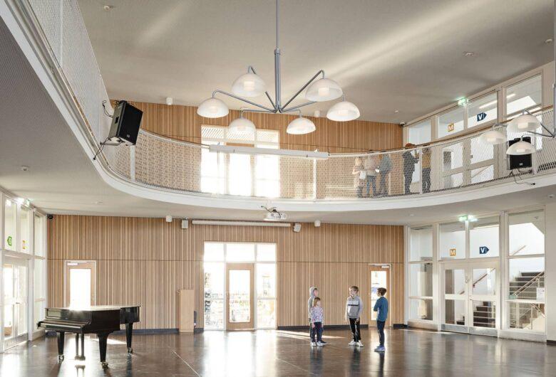 Lykkebo Skole aula