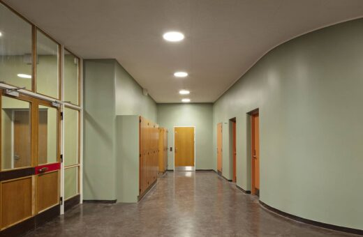 Lundehusskolen gangareal