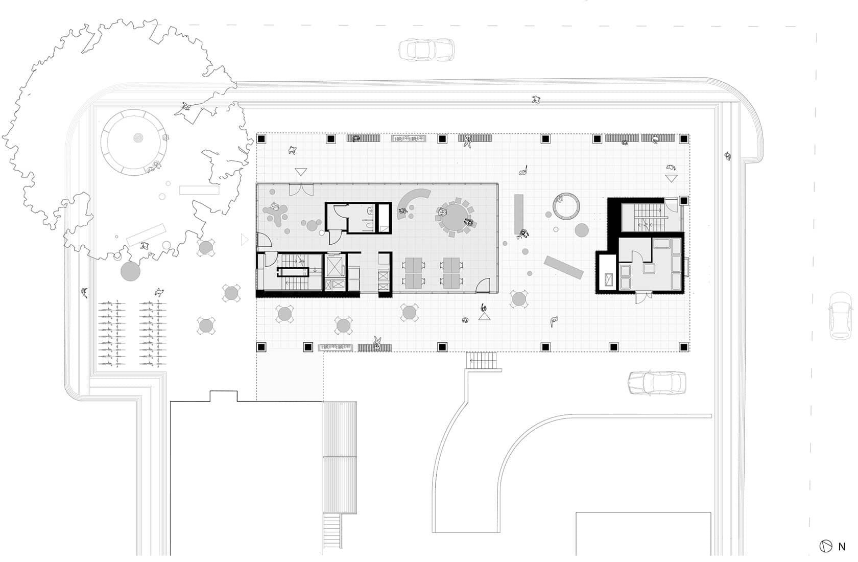 Bryggerhuset plan