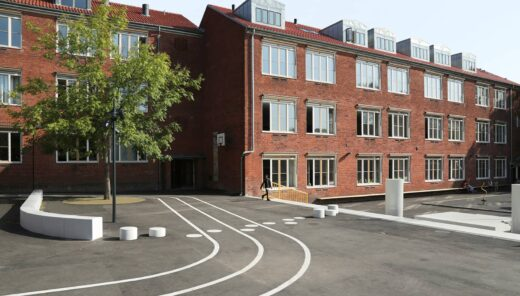 Holbergskolen udearealer