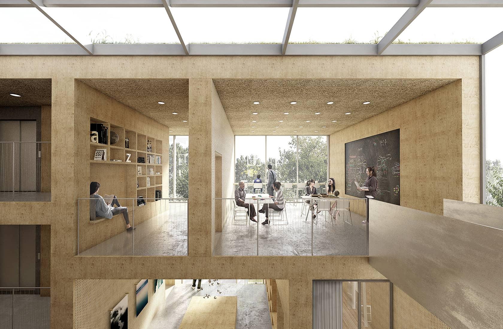 Kulturcenter Kildevæld interiør