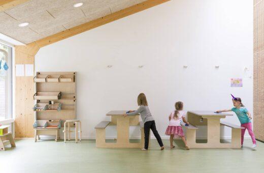 Idrætsbørnehaven Rymarksvej møbler