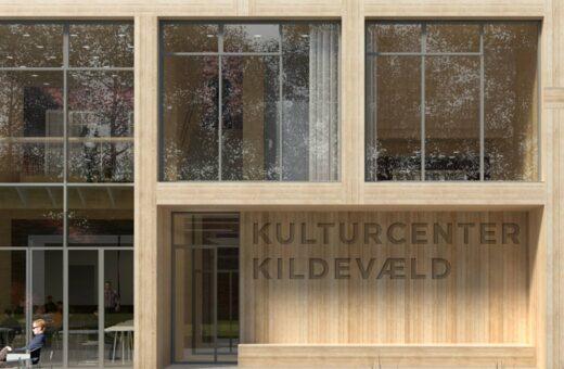 Kulturcenter Kildevæld indgang
