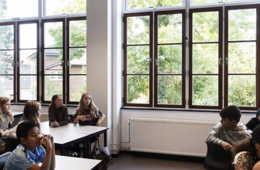 Bellahøj Skole klasselokale