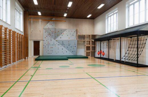 Holbergskolen gymnastiksal