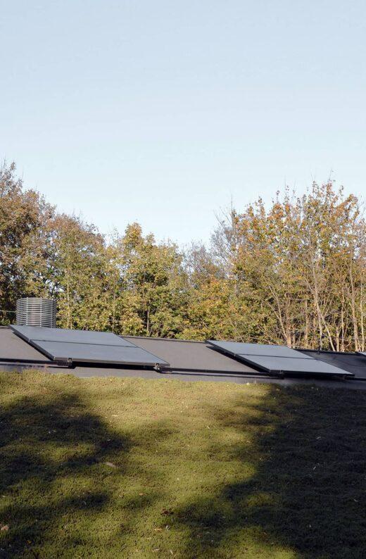 Idrætsbørnehaven Rymarksvej solceller