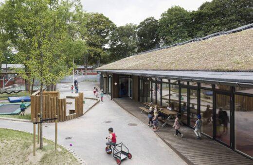 Idrætsbørnehaven Rymarksvej solceller på taget