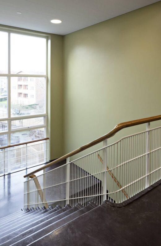 Lundehusskolen trappegang
