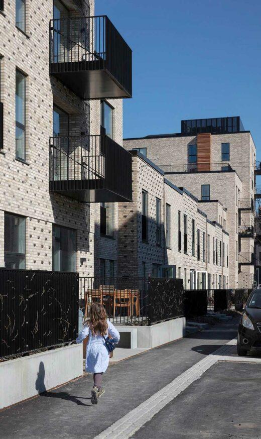 Kunstnerkarreens facade