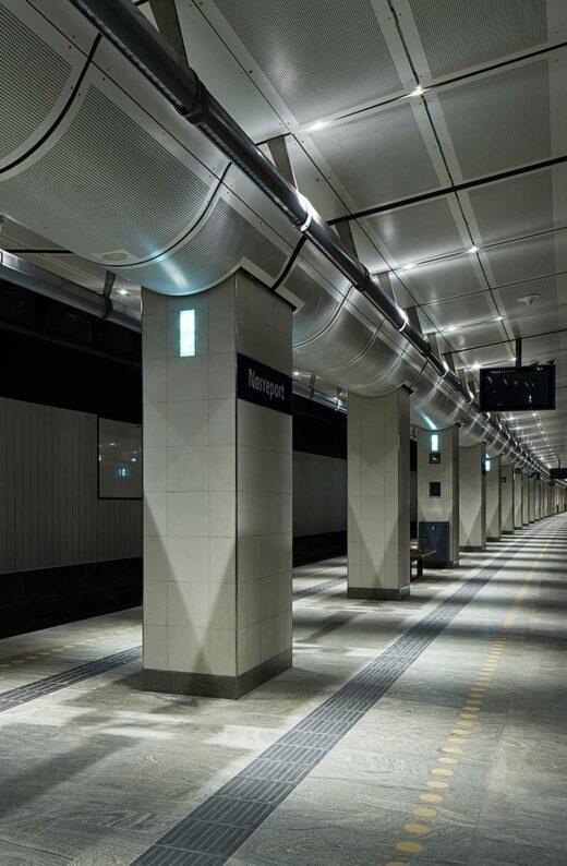 Nørreport Station perron