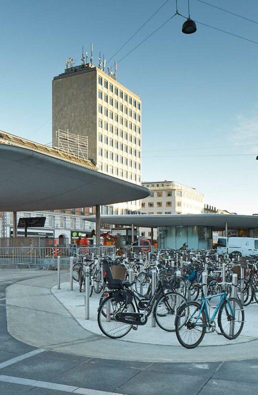 Nørreport Station cykelparkering