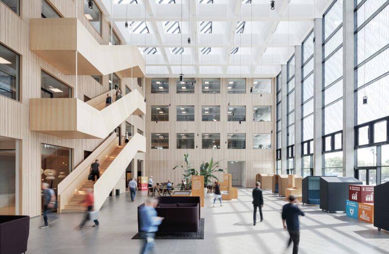 Sweco HQ atrium 3