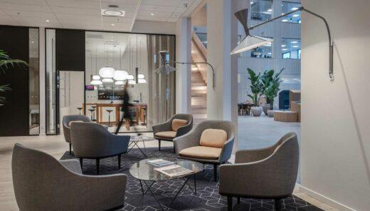 Loungeområde i HQ