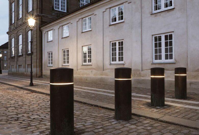 Afspæring ved Amalienborg Slotsplads