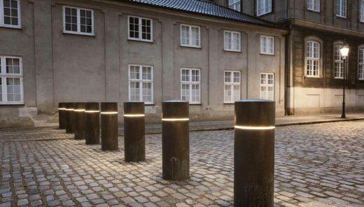 Afspæring ved Amalienborg Slotsplads 2