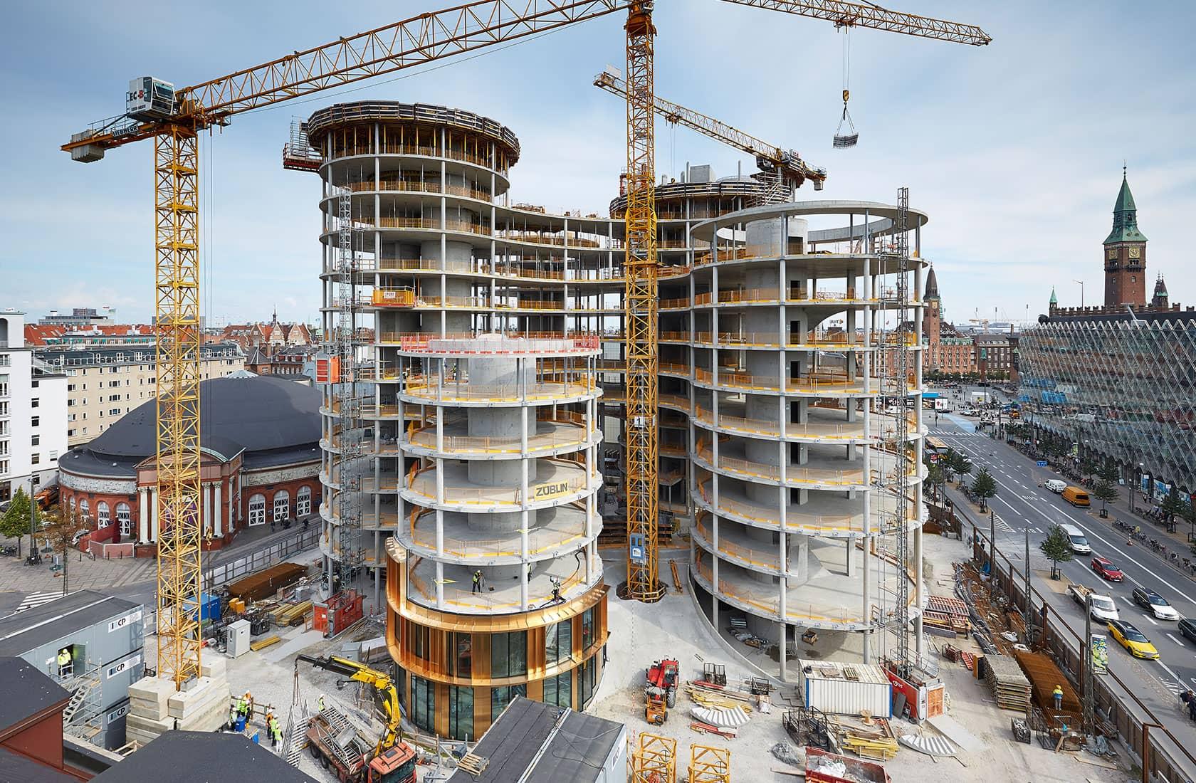 Axel Tower under opførelse 3