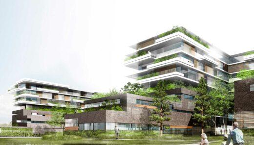 DNV Gødstrup rendering af facader