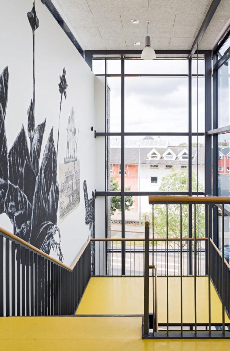Frederiksborg Gymnasium trappe