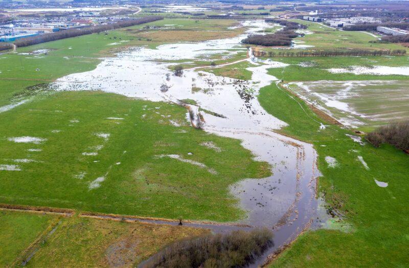 Herningsholm Å oversvømmet