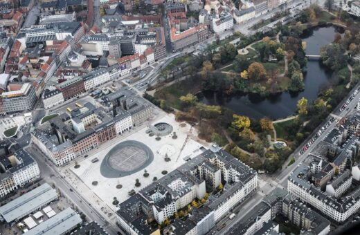 Israels Plads overview