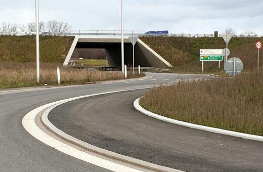Kalundborgmotorvejen afkørsel 2
