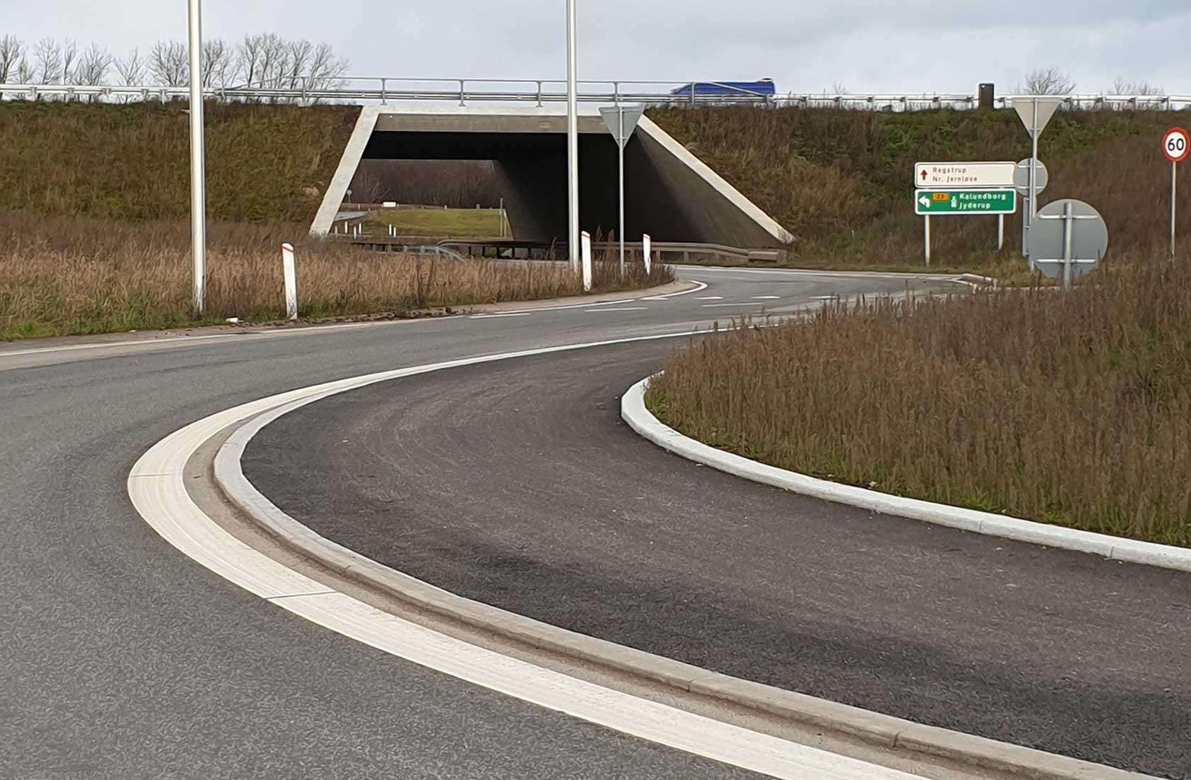 Kalundborgmotorvejen afkørsel