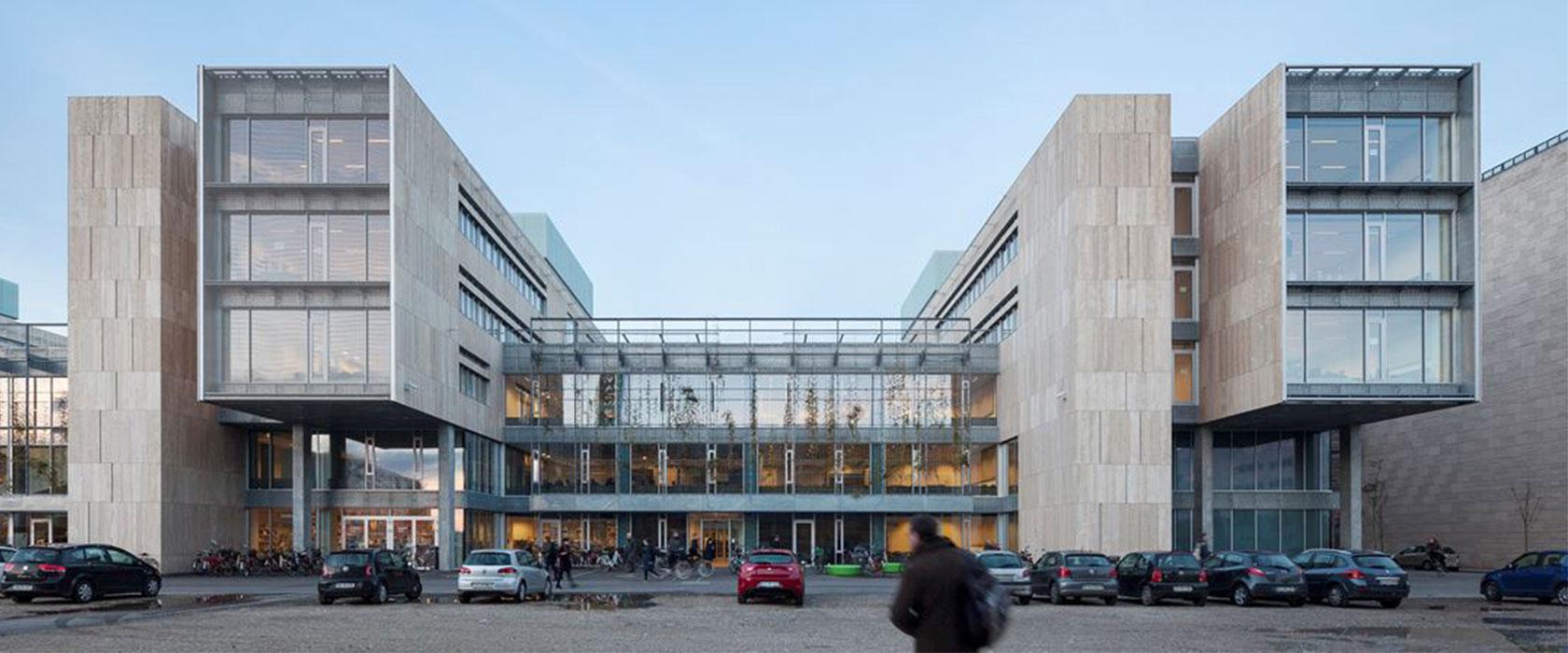 KU Sønder Campus facade