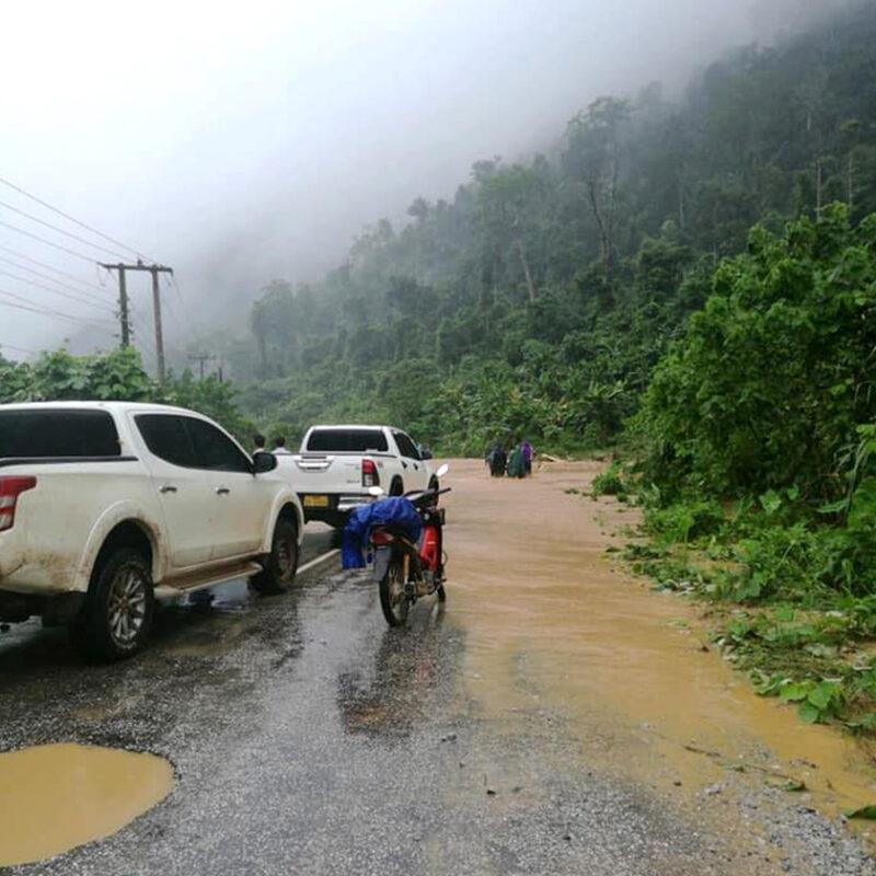 Laos oversvømmelse