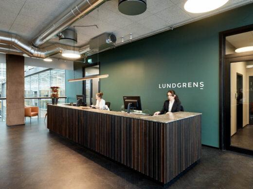 Lundgrens reception
