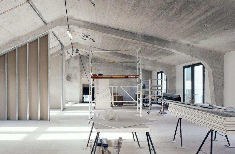 Niels Hemmingsens Gade renovering af tagetage