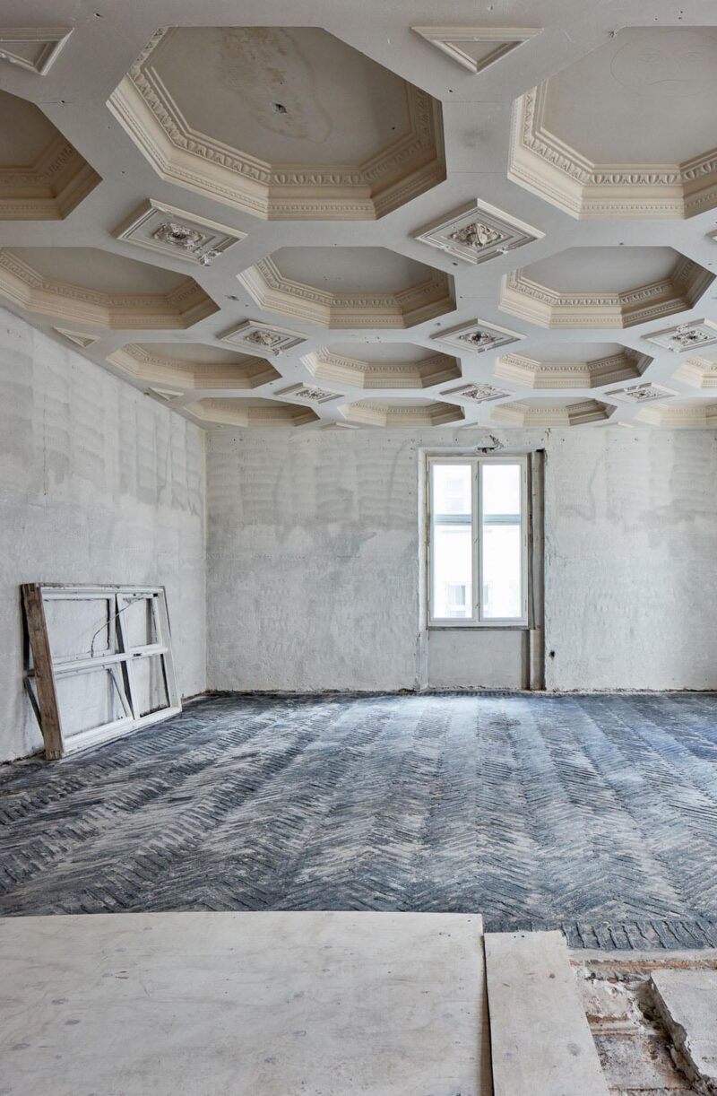 Niels Hemmingsens Gade renovering af stukloft