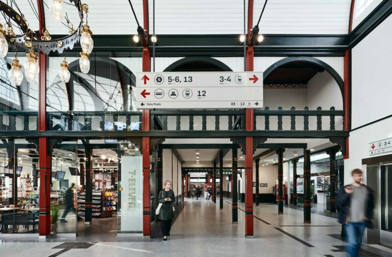 Østerport Station hall