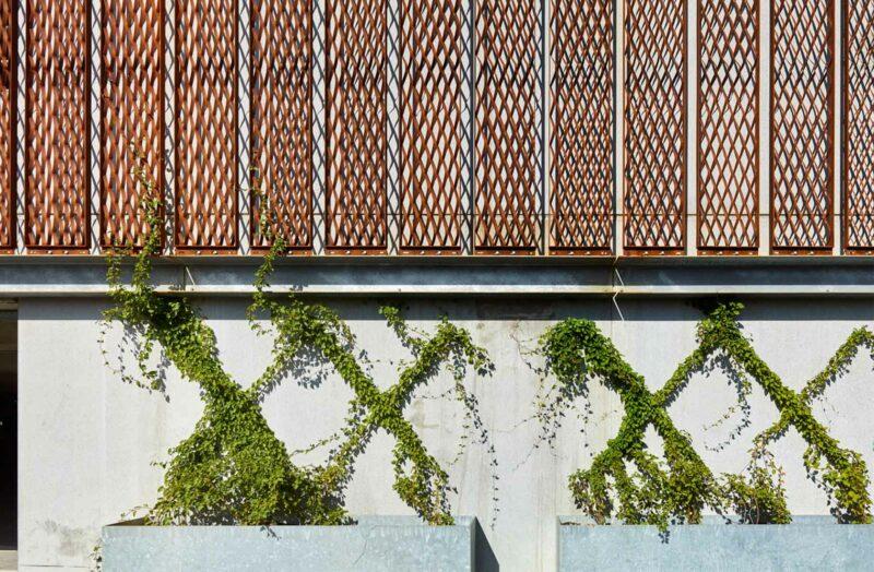 P-hus Bispebjerg facadedetaljer