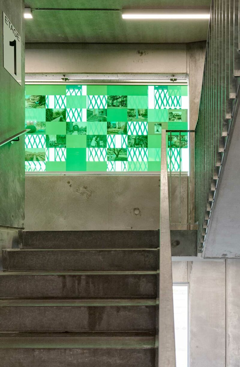 P-hus Bispebjerg trappe