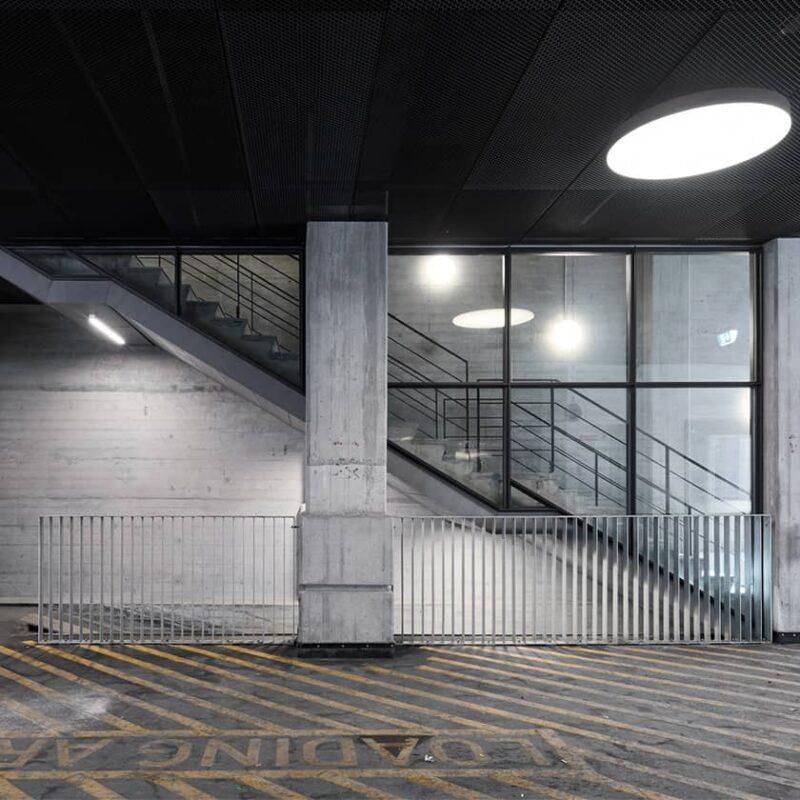 Postgårdens kældertrappe 2
