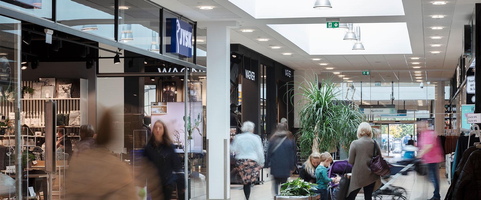 Rødovre Centrum handlende mennesker