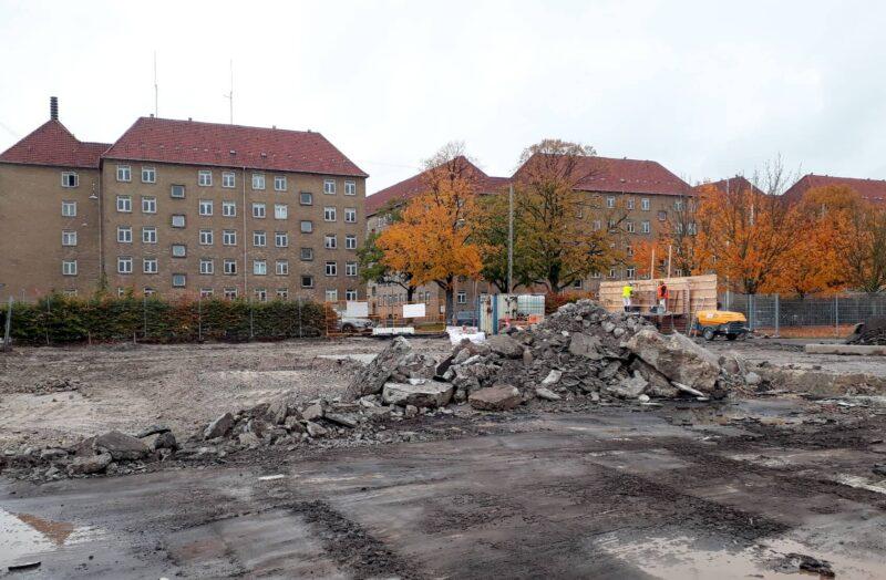 Sydhavnsgade murbrokker