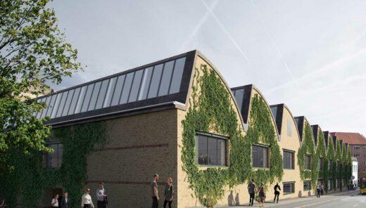 Willemoesgade facade rendering