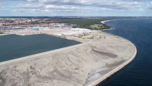 Ystad Havn nyt havneområde