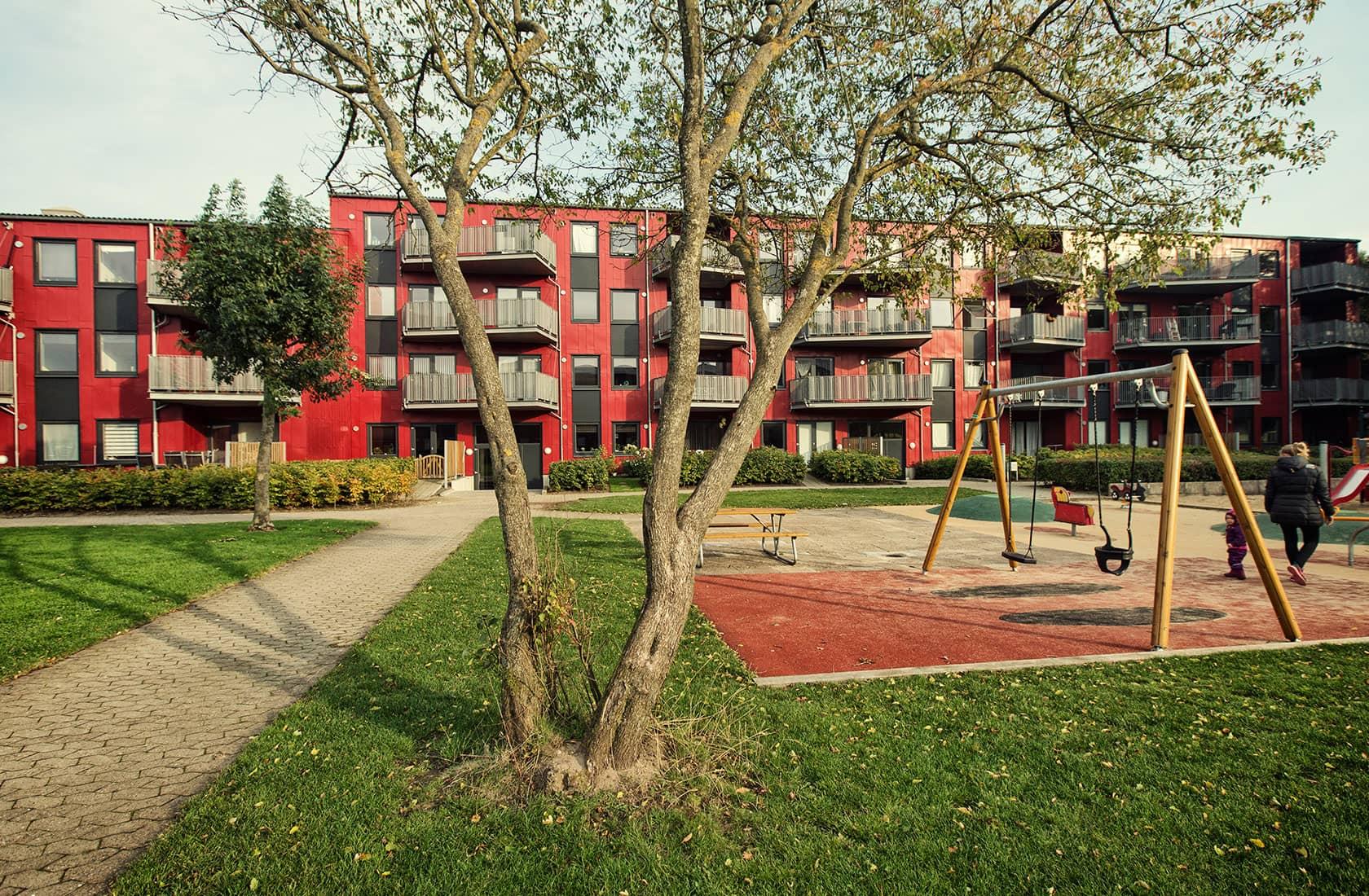 Legeplads ved Brændgårdsparken