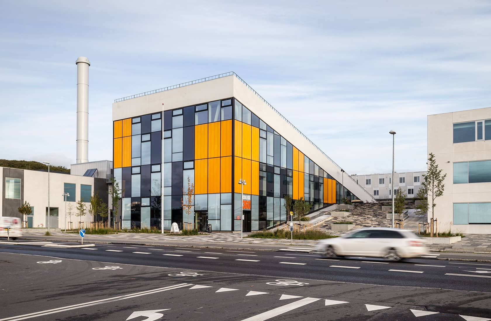 Bygning med udsigtspunkt, College360