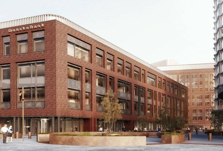Danske Bank facade