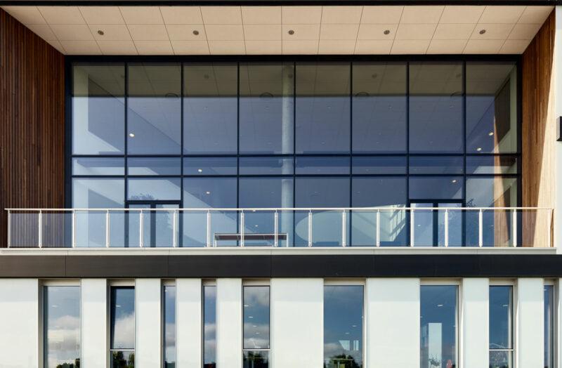 Balkon på Grindsted Rådhus