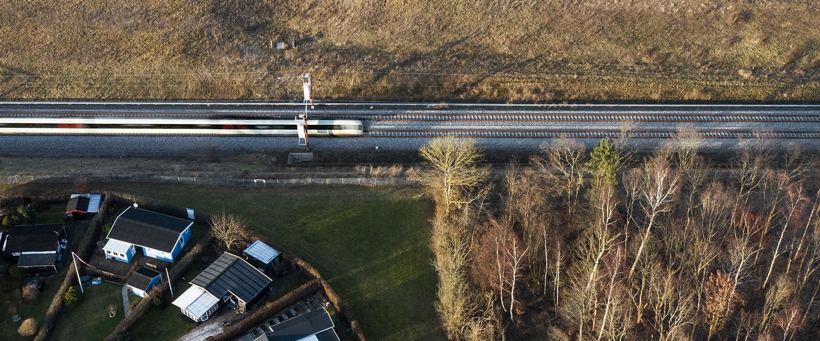 KBH - Ringstedbanen oppefra