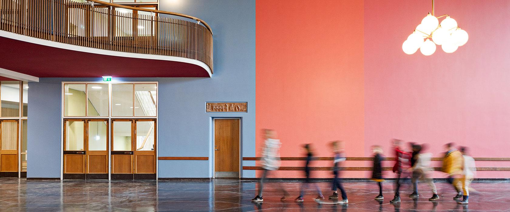 Lundehusskolens aula