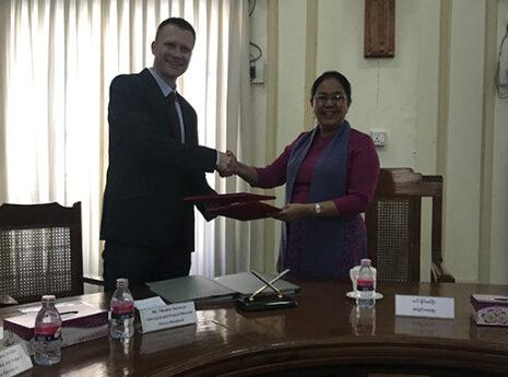 Katastrofesikring i Myanmar vil redde menneskeliv og sikre øget sundhed