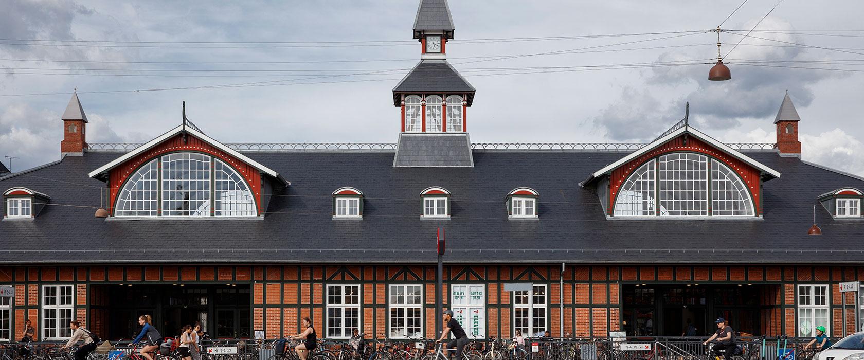 Østerport Station facade