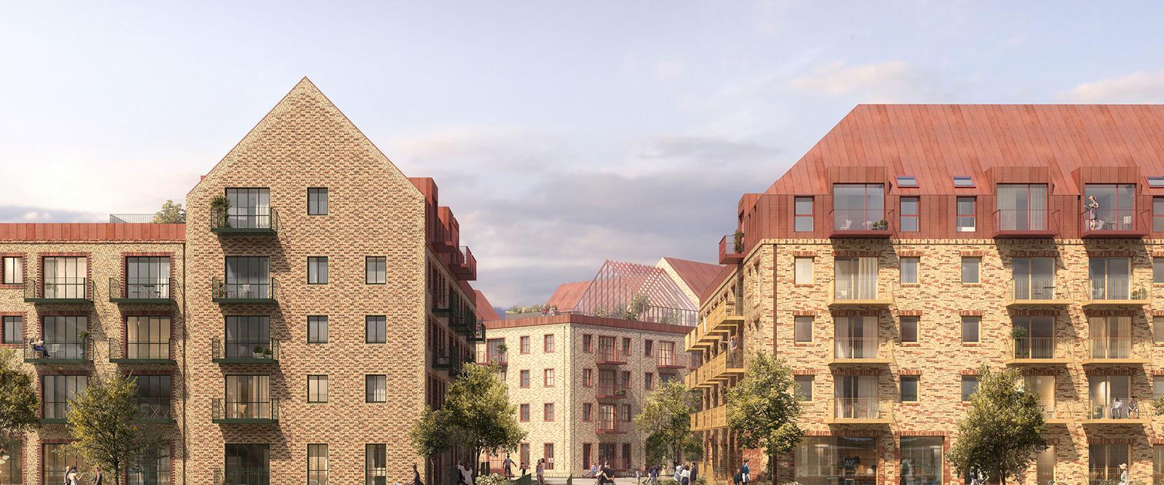 Facader i Sydhavnen