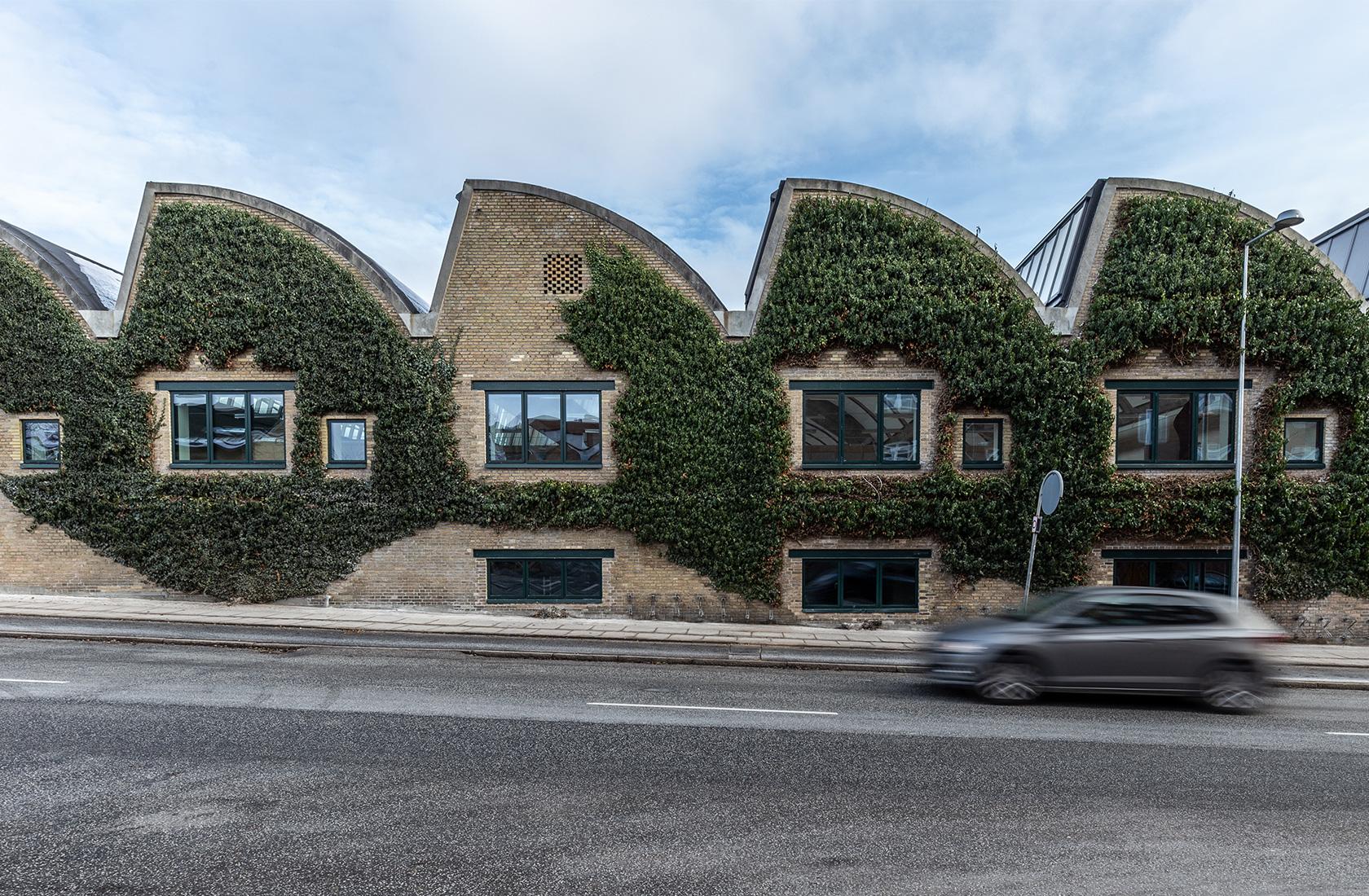 Grøn facade på Willemoesgade